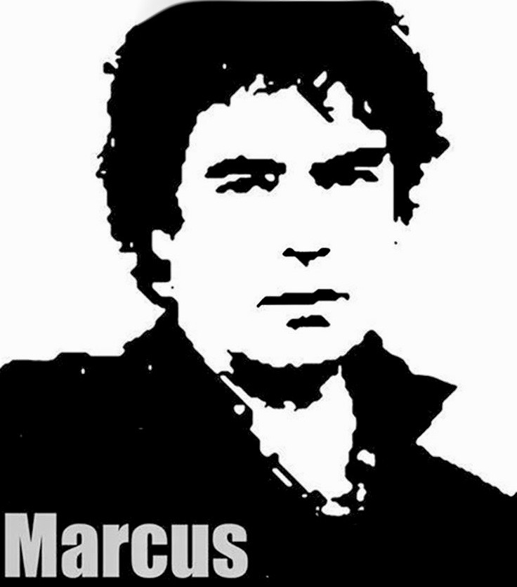 MARCUS black and white