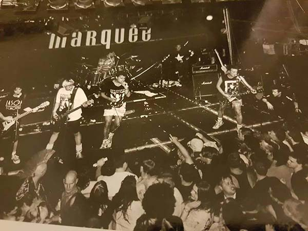 Peter and the testtube babies featuring Marcus- 1991 Marquee,London